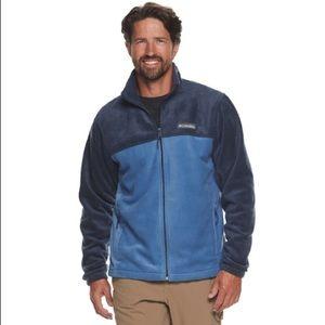 Men's Columbia fleece zip jacket